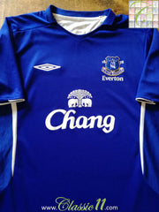 2005/06 Everton Home Football Shirt (XXL)