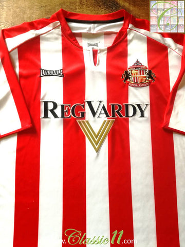 2005/06 Sunderland Home Football Shirt (L)