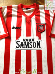 1996/97 Sunderland Home Football Shirt (XXL)