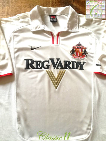 2000/01 Sunderland Away Football Shirt (XXL)