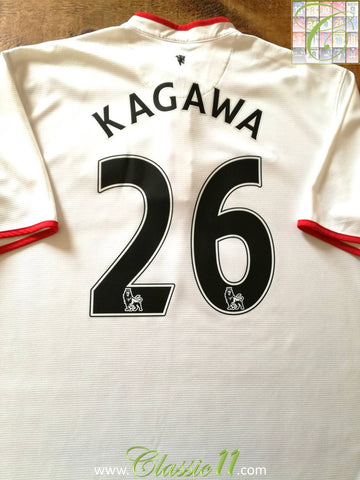 2012/13 Man Utd Away Premier League Football Shirt Kagawa #26 (XL)