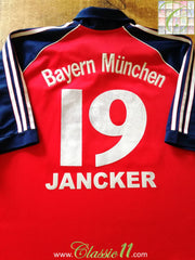 1999/00 Bayern Munich Home Football Shirt Jancker #19 (L)