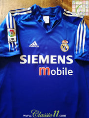 2004/05 Real Madrid 3rd La Liga Football Shirt (S)