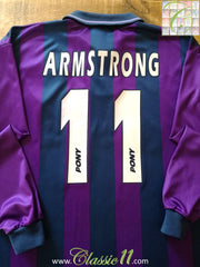 1995/96 Tottenham Hotspur Away Football Shirt Armstrong #11 (L)