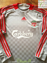 2008/09 Liverpool Away Football Shirt. (L)