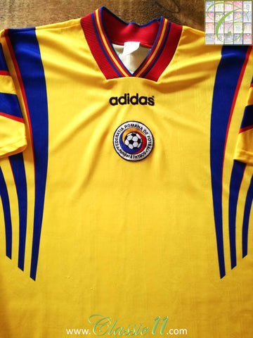1996/97 Romania Home Football Shirt (L)