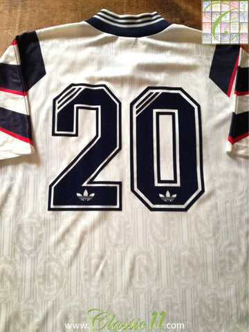 1996/97 Norway Away Football Shirt Solskjaer #20 (L)
