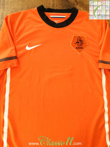 2010/11 Netherlands Home Football Shirt (M)