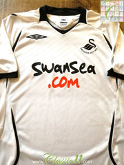 2008/09 Swansea City Home Football Shirt (S)
