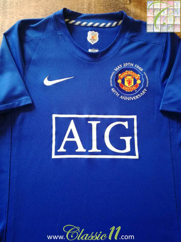 2008/09 Man Utd 3rd Football Shirt (L)