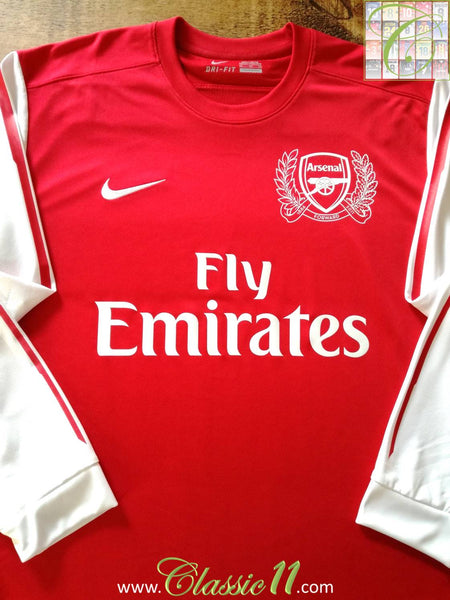 official photos 13531 8ad3d 2011/12 Old Vintage Arsenal Home Football Shirt / Old Soccer ...