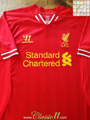 2013/14 Liverpool Home Football Shirt (M)