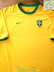 2000/01 Brazil Home Football Shirt (L)