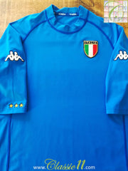 2000/01 Italy Home Football Shirt (XXL)