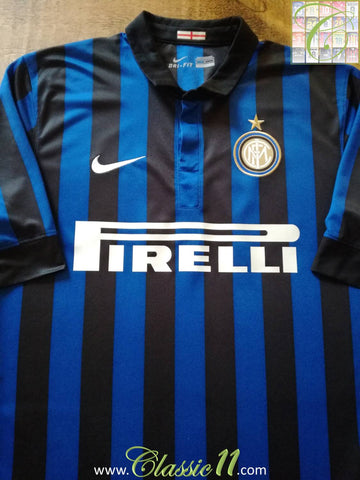 2011/12 Internazionale Home Football Shirt (L)