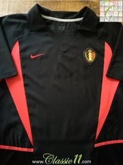 2002/03 Belgium Away Football Shirt (M)