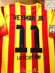 2013/14 Barcelona Away La Liga Football Shirt Neymar #11 (XL)