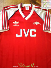 1988/89 Arsenal Home Football Shirt (M)