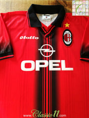 1997/98 AC Milan 4th Football Shirt (XL)