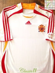 2006/07 Spain Away Football Shirt (L)