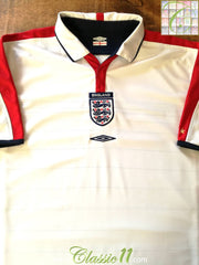 2003/04 England Home Football Shirt (B)