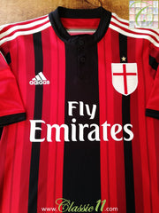 2014/15 AC Milan Home Football Shirt (L)