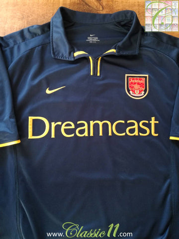 2000/01 Arsenal 3rd Football Shirt (XL)