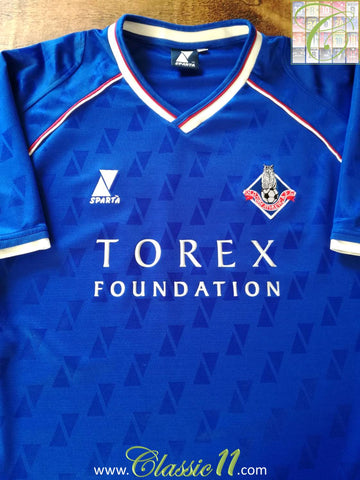 2002/03 Oldham Athletic Home Football Shirt (XL)
