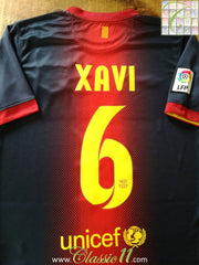 2012/13 Barcelona Home La Liga Football Shirt Xavi #6 (XL)