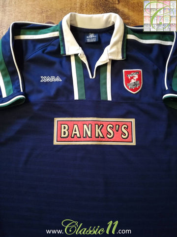 2002/03 Walsall Away Football Shirt (S)