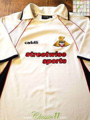 2004/05 Doncaster Rovers Away Football Shirt (M)