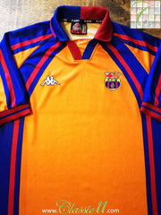 1997/98 Barcelona European Away Football Shirt (L)