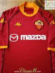2002/03 Roma Home Football Shirt (XXL)