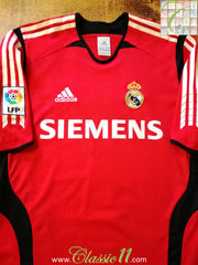 2005/06 Real Madrid Goalkeeper La Liga Football Shirt (S)