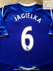 2008/09 Everton Home Premier League Football Shirt Jagielka #6 (XXL)