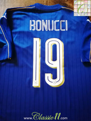 2016/17 Italy Home Football Shirt Bonucci #19 (XL)