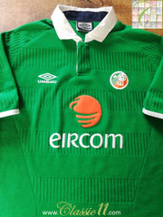 2001 Republic of Ireland Home Football Shirt (M)