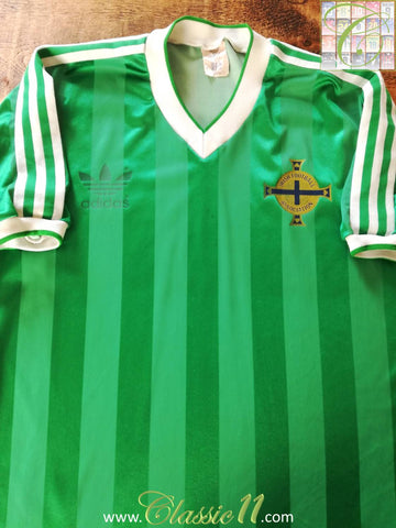 1984/85 Northern Ireland Home Football Shirt (L)