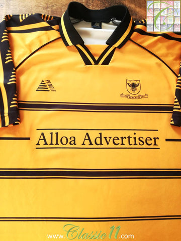 2001/02 Alloa Athletic Home Football Shirt (L)