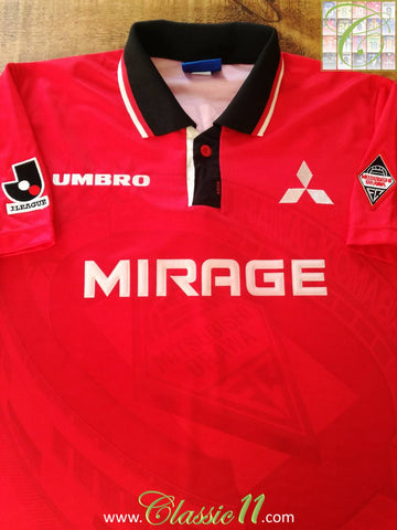 1996 Urawa Red Diamonds Home Football Shirt (M)