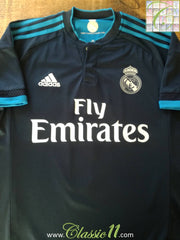 2015/16 Real Madrid 3rd La Liga Football Shirt (XL)