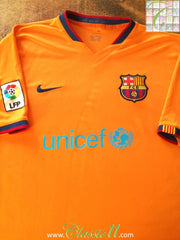 2006/07 Barcelona Away La Liga Football Shirt (M)