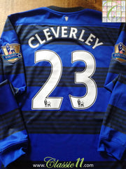2011/12 Man Utd Away Premier League Football Shirt. Cleverley #23 (M)