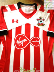 2016/17 Southampton Home Football Shirt (XL) *BNWT*