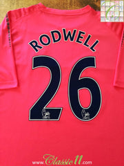 2010/11 Everton Away Premier League Football Shirt Rodwell #26 (XXL)