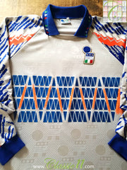1993/94 Italy Goalkeeper Football Shirt #1 (L)