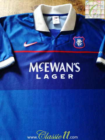 1997/98 Glasgow Rangers Home Football Shirt (XXL)