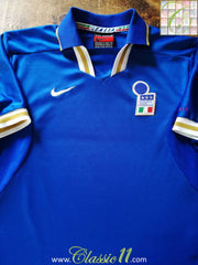 1996/97 Italy Home Football Shirt (L)