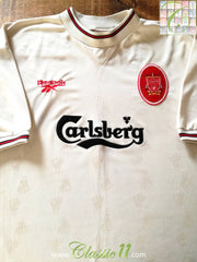 1996/97 Liverpool Away Football Shirt (XXL)