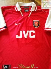 1996/97 Arsenal Home Football Shirt (B)